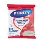PURITY Cream of Maize Baby's Soft Porridge Strawberry400g from 6 Months