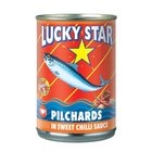 Lucky Star Pilchards in Sweet Chilli 400g x 12