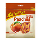 Safari Cling Peaches Choice 250g