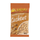 Safari Roasted And Salted Cashews 100g
