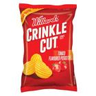 Willards Crinkle Cut Chips Tomato 125g