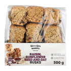 PnP Raisin, Sunflower Seed & Oat Rusks 500g