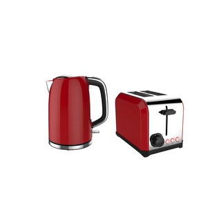 Aim  Toaster and Kettle Pack Red