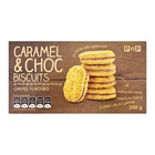 PnP Choc Duo Caramel Biscuits 200gr