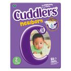 Cuddlers Newborn Diapers Size 2 66s