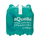 Aquelle Sparkling Natural Spring Water 500ml x 6