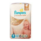 Pampers Premium Care Disposable Nappies Maxi Jumbo 66s