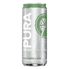 Pura Soda Cucumber & Lime 330ml x 24