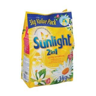 Sunlight Handwashing Powder 2in1 Spring Sensations 3kg x 6