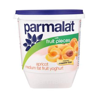 Parmalat Low Fat Apricot Fruit Yoghurt 1kg