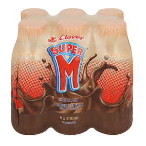 Super M Chocolate 300ml x 6