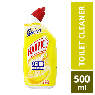 Harpic Active Cleaning Gel Citrus 500ml Each Unit Of Measure