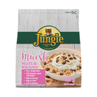 JUNGLE MUESLI NUTS&RAISINS 400GR