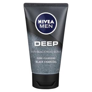 Nivea For Men Facial Scrub Deep 75ml