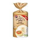 BAKERS PROVITA PLAIN RICE CAKES 100GR