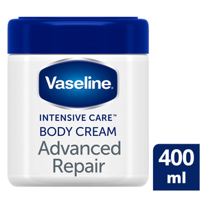 Vaseline Body Cream Unfragranced Advanced Repair 400ml