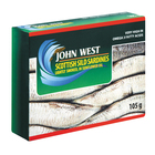 John West Lightly Smoked Sild Sardines i n Vegetable Oil 105g