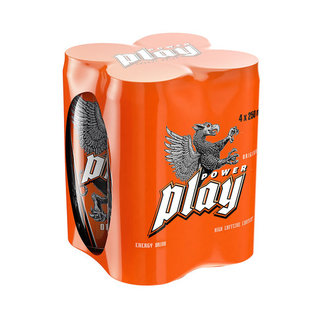 Power Play Energy Drink 250ml x 4
