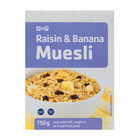 PnP Raisin And Banana Muesli 750g