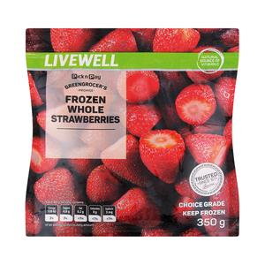 PnP Frozen Strawberries 350g