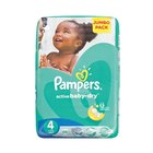 Pampers Baby-Dry Size 4 Jumbo Pack, 66 Nappies x 2