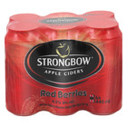 Strongbow Red Berries CANS 440ml x 6