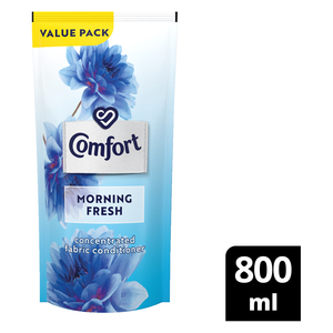 Comfort Morning Fresh Concentrated Fabric Conditioner Refill 800ml