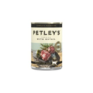 Petleys Adult Dog Food Terrine with Oxtail 775g x 6