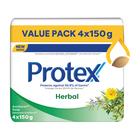 Protex Herbal Antigerm Soap 4 Pack, 150gr
