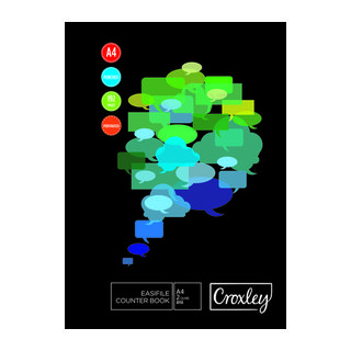 Croxley A4 192 Page Easi File Book