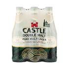 CASTLE DOUBLE MALT BEER NRB 340ML