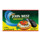 John West Smoked Mussels In Vegetable Oil 85g