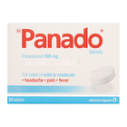 Panado Pain & Fever Tablets Blister 24s