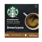 Starbucks House Blend by Nescafe Dolce Gusto Medium Roast Coffee Pods 12s
