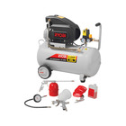 Ryobi Compressor 50l 2.0HP With 5 Piece Kit