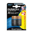 Duracell Batteries Ultra Power AA 4+2