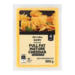 PnP 6 Months Mature Cheddar Cheese 300g