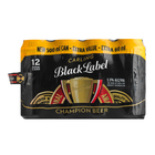 Carling Black Label Beer Can 12x500ml