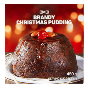 PnP Christmas Brandy Pudding 450g