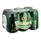 Windhoek Lager Cans 330ml x 6
