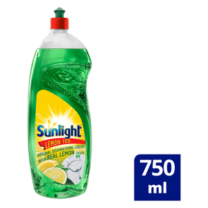 Sunlight Lemon Dishwashing Liquid 750ml
