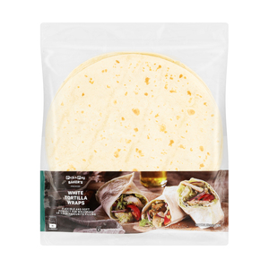 PnP White Tortilla Wraps 6s