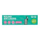 PnP Round Bin Liner Small 15ea