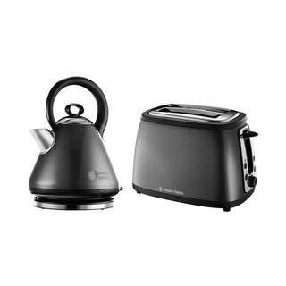 Russell Hobbs Legacy Kettle & Toaster Combo Grey
