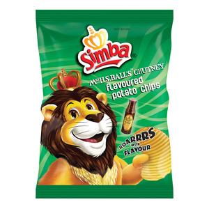 Simba Original Chutney Chips 125g