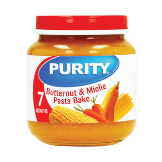 Purity Butternut & Mielie Pasta Bake 2nd Babyfood 125ml x 4