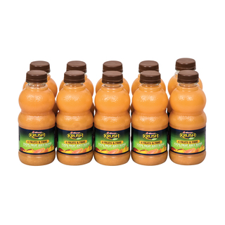 Krush 100% Fruit Juice B lend 500 ML x 10
