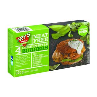 Fry's Chicken Style Burger 320g