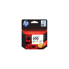 HP 650 Tri Colour Cartridge Blister Pack