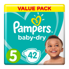 Pampers Active Baby Nappies Junior Value Pack 42s